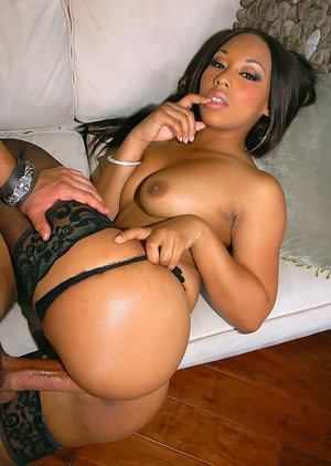 Black Women in Stockings Porn