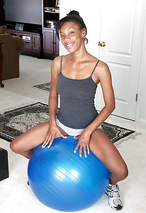 Black Girl in Shorts Porn