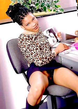 Black Secretary Porn