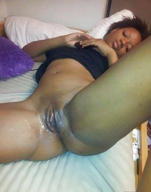 Black Shaved Pussy Porn