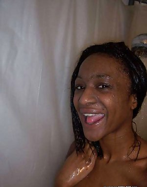 Black Girl in Bath Porn