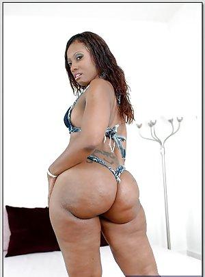 Black Girl in Lingerie Porn