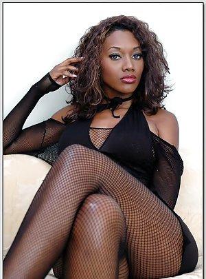 Black Women in Pantyhose Porn