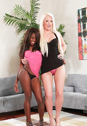 Black fuck Blonde Porn