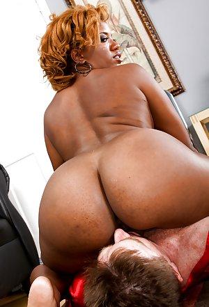 Black Women Rimjob Porn
