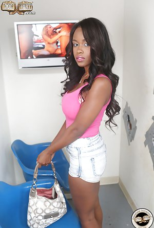 Black Girl in Shorts Porn